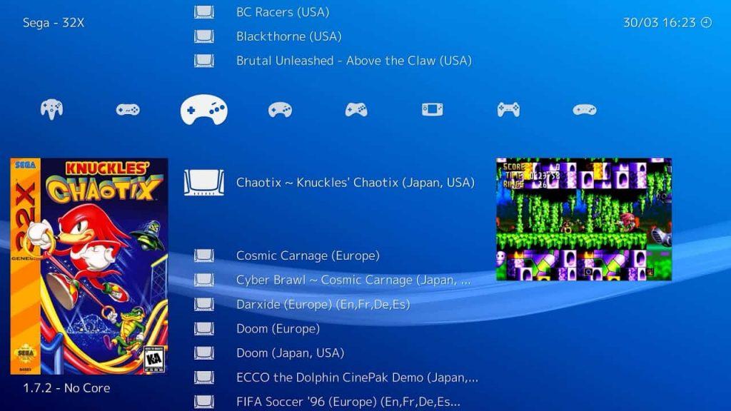 RetroArch PS3 Emulator